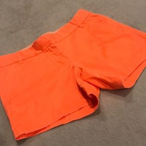 J. Crew Orange Chino Shorts - Size 4